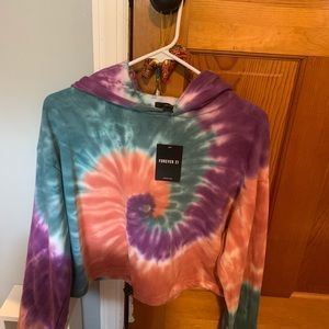 Brand New with Tag Tie Dye Hoodie with drawstring